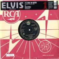 "Elvis Presley - It's Now Or Never/Make Me Know It/A Mess Of Blues (1207) 10""  Single"